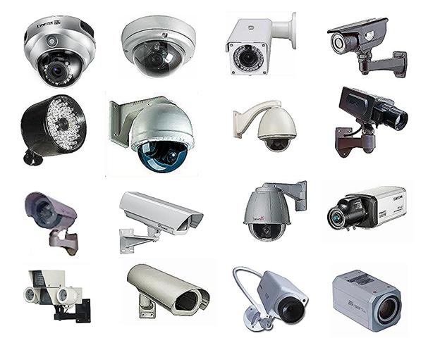 انواع و اقسام دوربین مدار بسته و معرفی کردن هر کدام یک از آنها